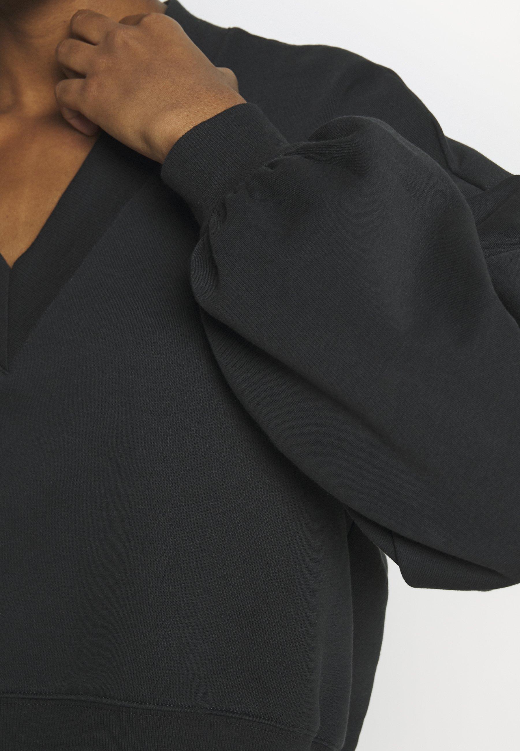 Monki STELLA - Bluza - black dark