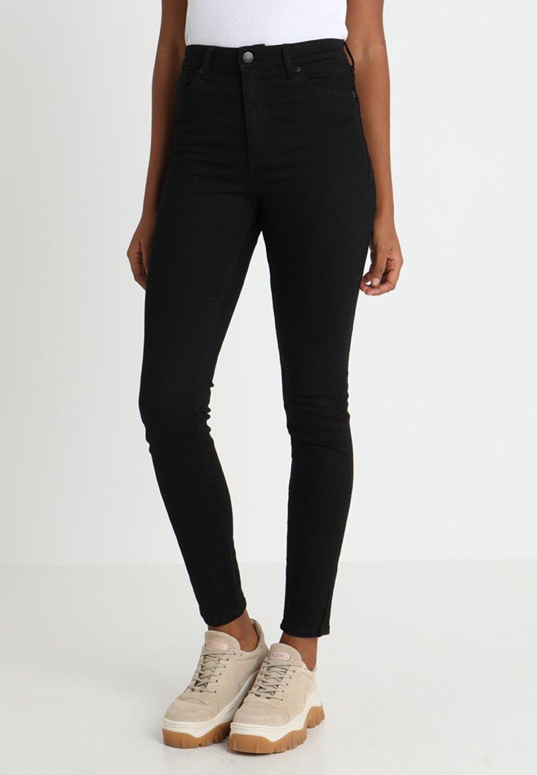 Monki - OKI - Jeans Slim Fit - black