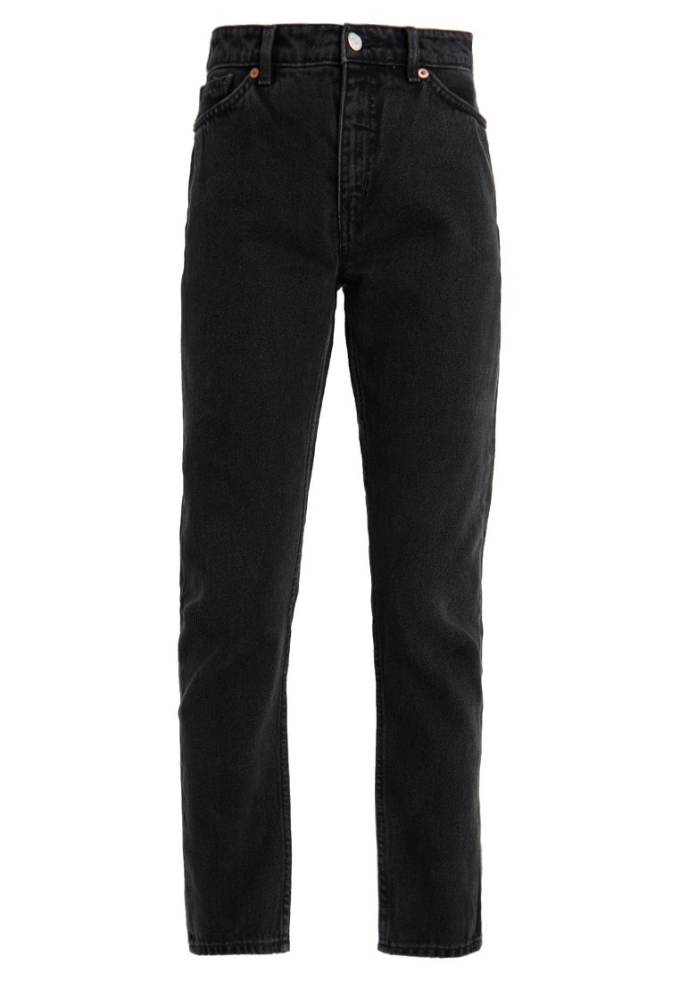 Monki KIMOMO - Jeansy Relaxed Fit - black