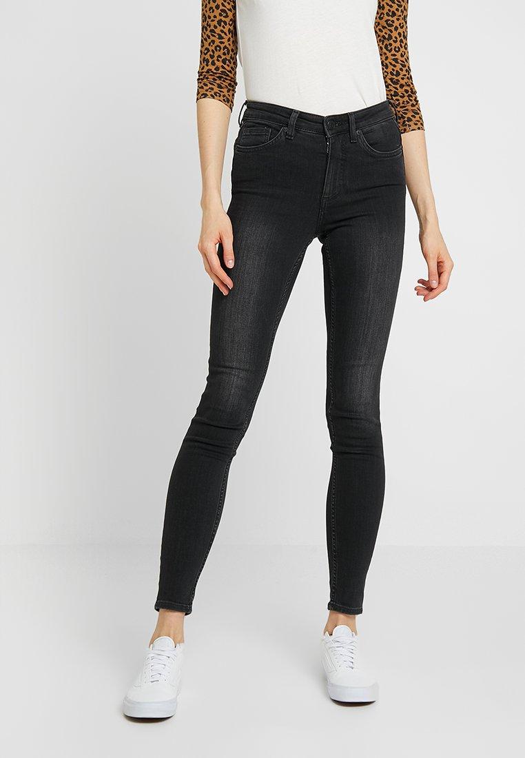 Monki - MOCKI - Jean slim - washed black