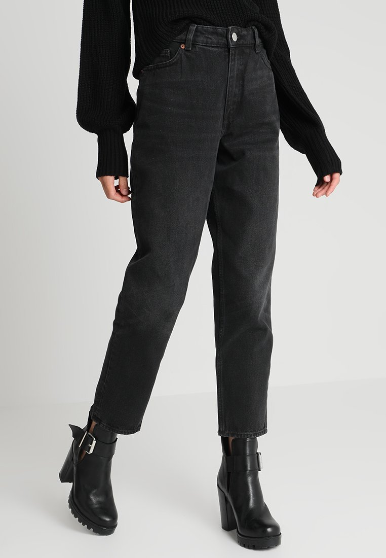 Monki - TAIKI  - Relaxed fit jeans - black