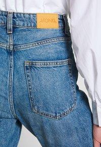 Monki - KIMOMO  - Jeans straight leg - vintage blue - 3