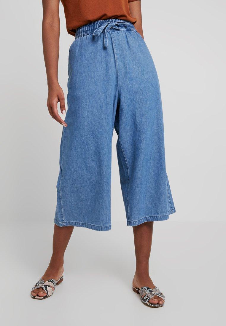 Monki - CULOTTE - Pantaloni - blue