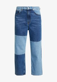 Monki - MOZIK BLOCK - Jeans relaxed fit - blue - 4