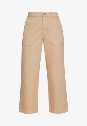RIO - Široké džíny - beige medium dusty