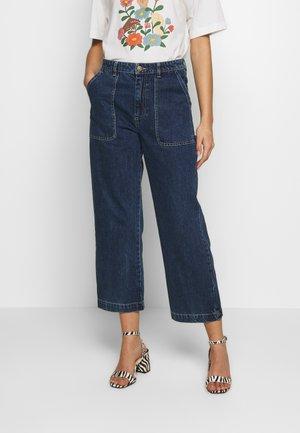 RIO - Flared jeans - blue medium dusty