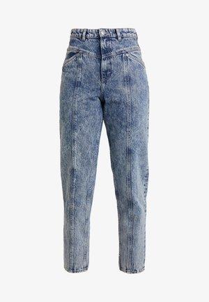 ANDREA - Jeans straight leg - blue acid wash