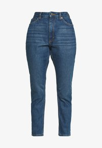 Monki - KIMOMO - Jeans straight leg - blue medium dusty - 3