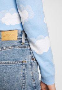 Monki - KIMOMO - Jeans straight leg - blue medium mid blue - 3
