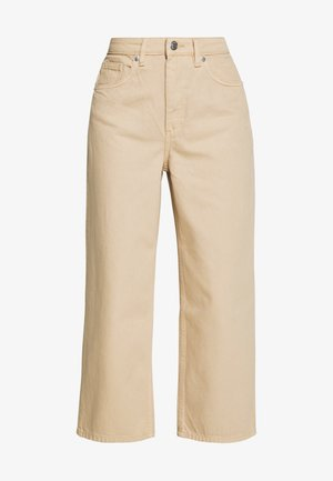 MOZIK - Relaxed fit jeans - beige medium dusty