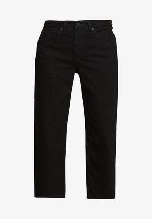 MOZIK - Jeans baggy - black dark