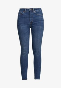 Monki - OKI NEW - Jeans Skinny Fit - blue medium dusty - 4