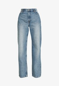 Monki - YOKO  - Jeans Straight Leg - blue medium dusty - 3