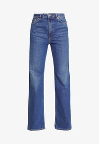 Monki - YOKO - Straight leg jeans - blue medium dusty - 3
