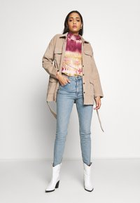 Monki - MOOP BLUE - Slim fit jeans - blue - 1