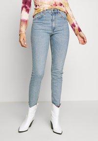 Monki - MOOP BLUE - Slim fit jeans - blue - 0