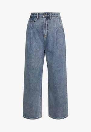 NANI TROUSERS - Relaxed fit jeans - blue medium dusty
