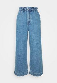 Monki - LIZETTE TROUSER - Relaxed fit jeans - blue medium - 4