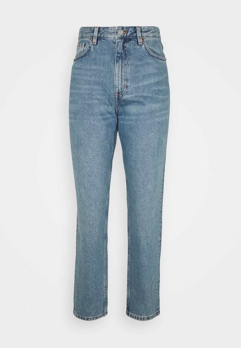 Monki - TAIKI - Jeans Straight Leg - blue dusty light