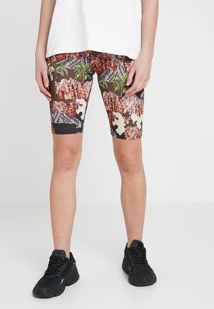 EDDA 2 PACK  - Shorts - brown/black/camel