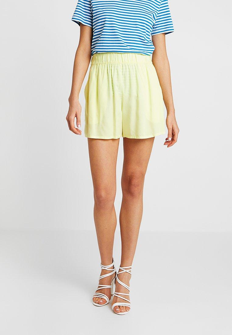 Monki - HEIDI - Shorts - yellow