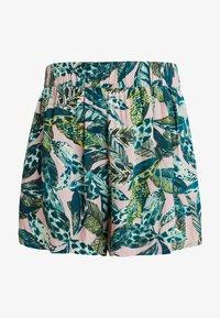 Monki - HEIDI - Shorts - light green/dark pink - 4
