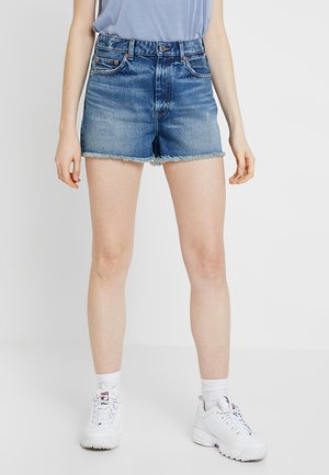 KELLY - Shorts vaqueros - blue
