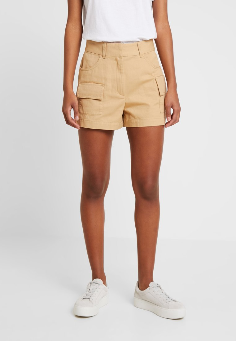 Monki - CHERRY - Shorts - beige