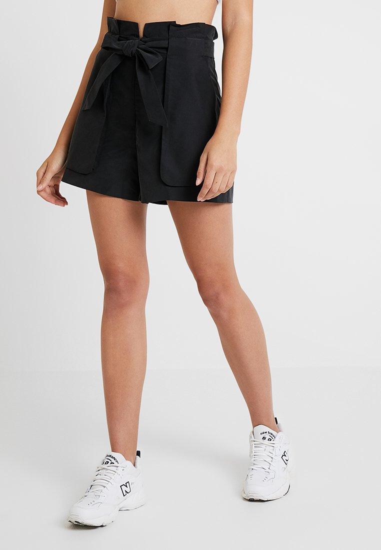 Monki - FERRY - Shorts - black