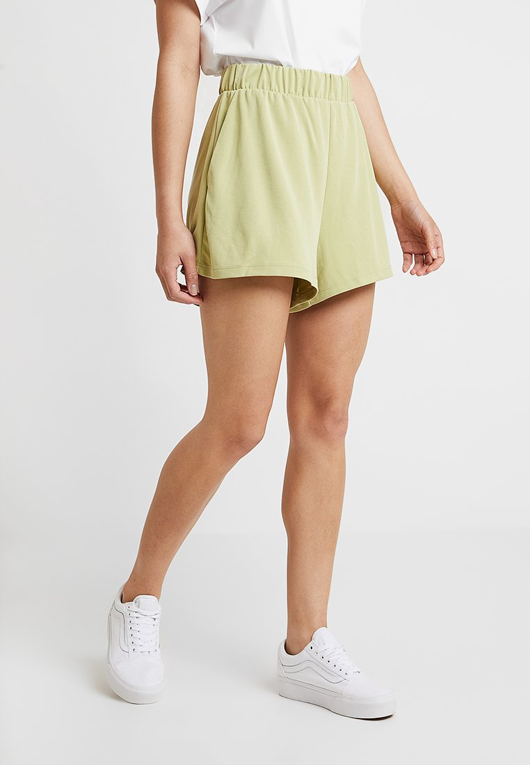 Monki - ALMA - Shorts - lime