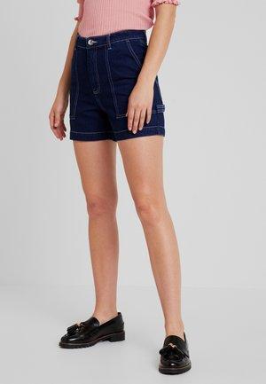 RIO SHORTS - Shorts vaqueros - blue