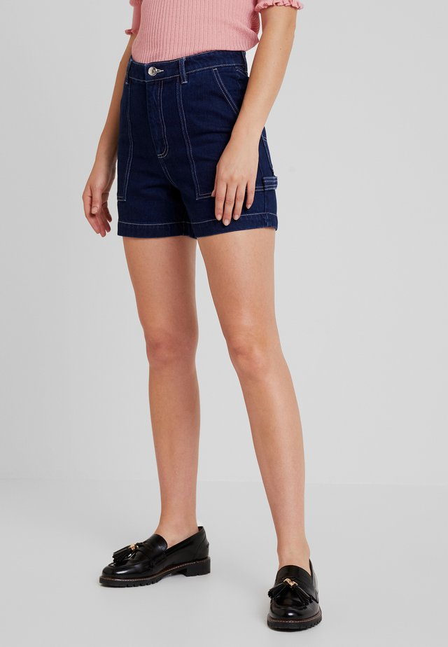 RIO SHORTS - Jeans Shorts - blue