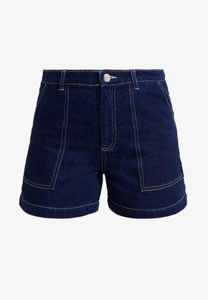 RIO SHORTS - Szorty jeansowe - blue