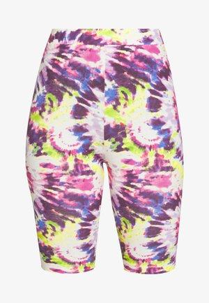 EDDA - Shorts - white/pink tie dye