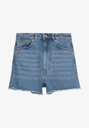 KELLY - Denim shorts - blue medium dusty