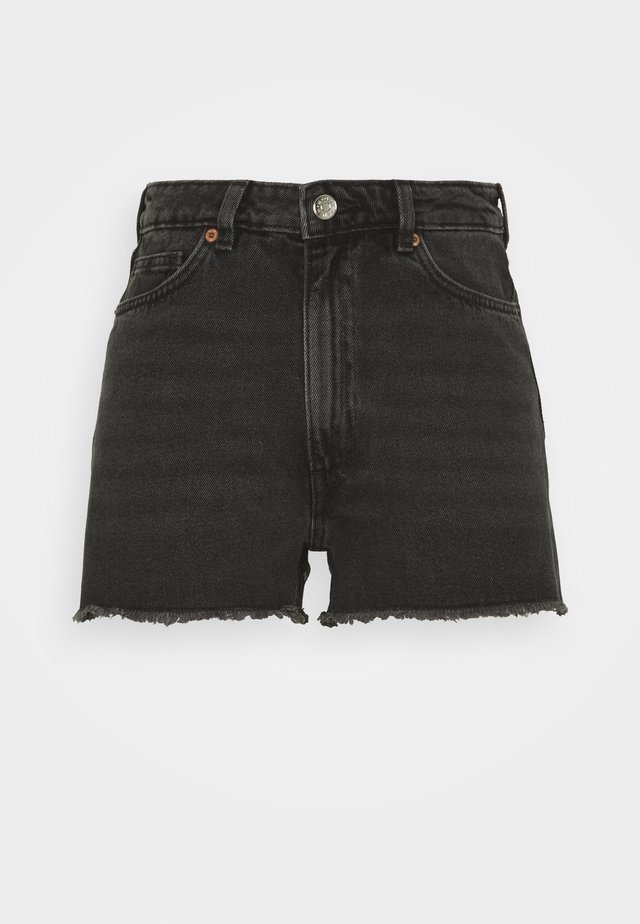 KELLY - Jeans Short / cowboy shorts - black