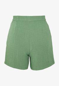 Monki - MARLOW SHORTS - Shorts - green - 1