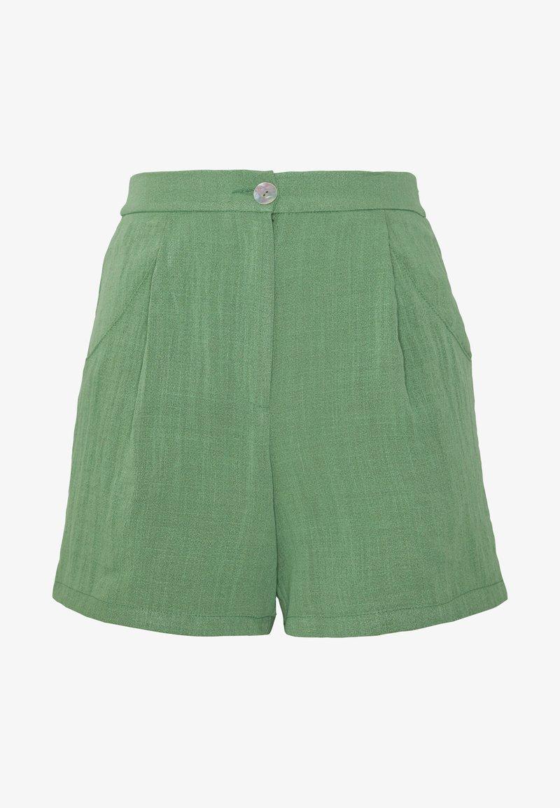 Monki - MARLOW SHORTS - Shorts - green