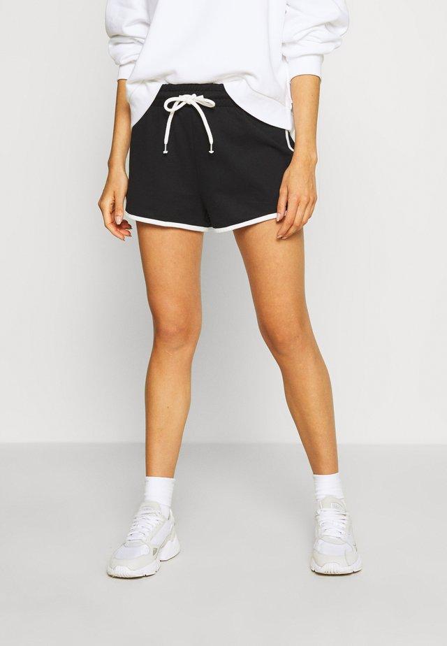 STINA 2 PACK - Spodnie treningowe - khaki/black dark