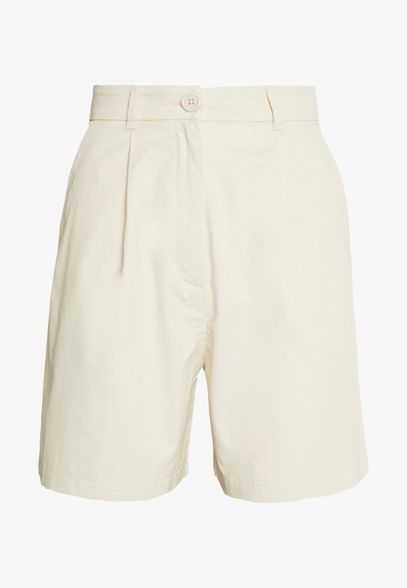 Monki - NIMMI SHORTS - Shorts - beige dusty light