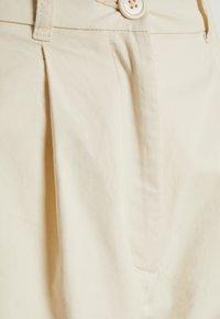 Monki - NIMMI SHORTS - Shorts - beige dusty light - 2