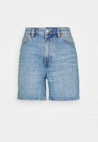 Monki - TALLIE - Jeansshorts - blue medium dusty - 4