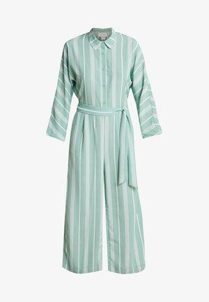 HEDDA - Jumpsuit - green/white