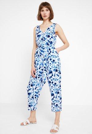 RIMA UNIQUE - Jumpsuit - off-white/blue