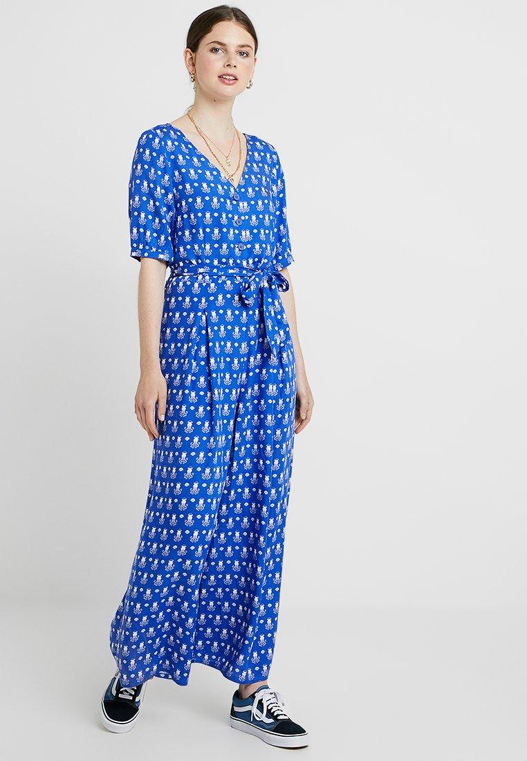 Monki - SUE UNIQUE - Haalari - blue/white