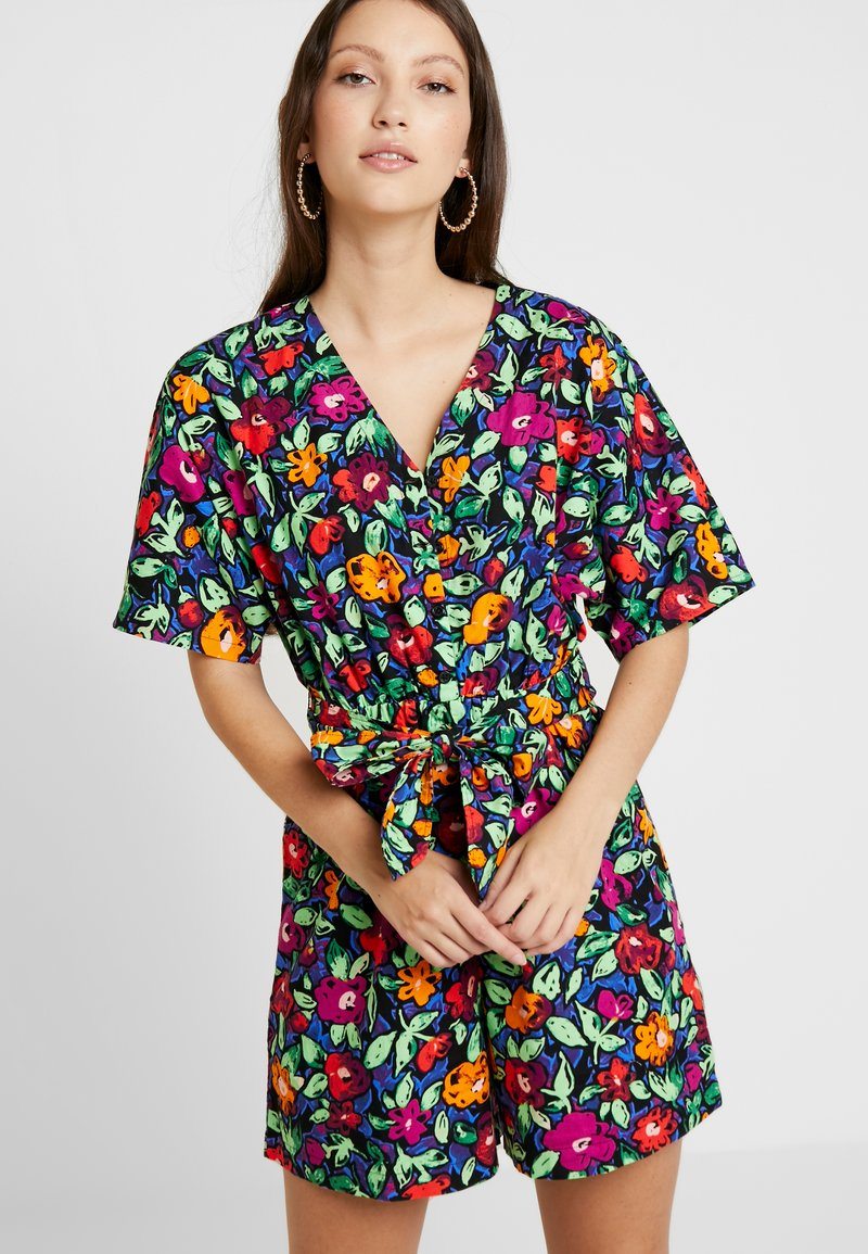 Monki - TONYA PLAYSUIT UNIQUE  - Jumpsuit - multi-coloured