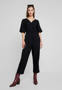 Monki - PIM UNIQUE - Overal - black - 1
