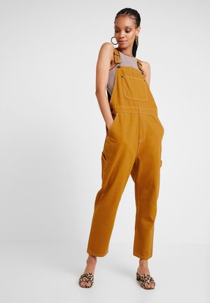 CIARA DUNGAREE - Kombinezon - tobacco