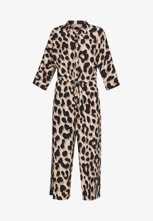 HARRIOT - Jumpsuit - beige/black