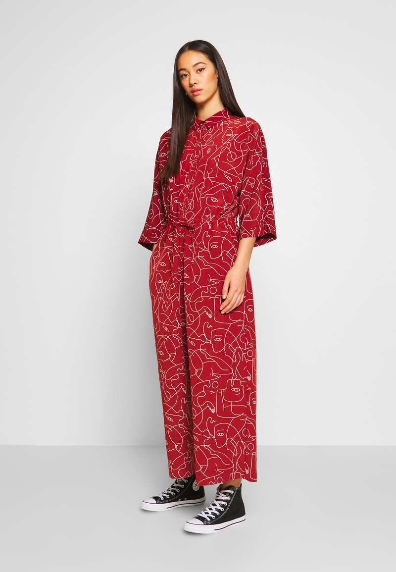 Monki - HARRIOT - Jumpsuit - red medium
